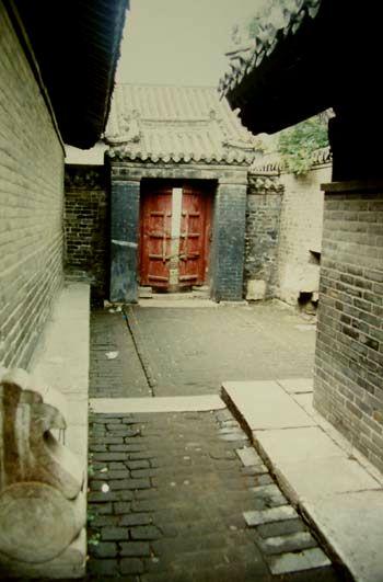 Stranski vhod v konfucijevo palačo.